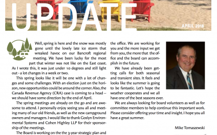 Camping in Ontario Newsletter